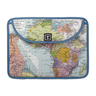 PARTITIONED AFRICA, 1914 SLEEVE FOR MacBook PRO