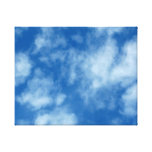 Partly Cloudy Blue Sky Photo on Wrapped Canvas Gallery Wrap Canvas