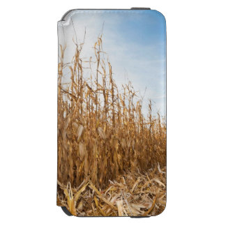 Partly Harvested Corn Field Incipio Watson™ iPhone 6 Wallet Case