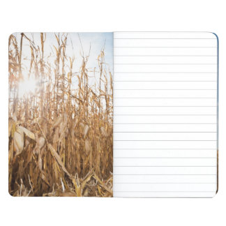 Partly Harvested Corn Field Journal