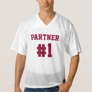 Partner #1 Together Since | Football Jersey
