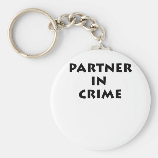 Partner in crime! key ring