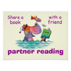 Partner Reading Classroom Poster