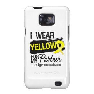 Partner Yellow Ribbon Endometriosis Samsung Galaxy S2 Cases