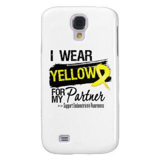 Partner Yellow Ribbon Endometriosis Galaxy S4 Case