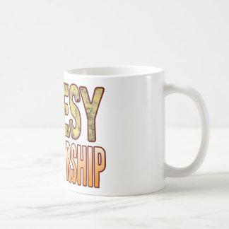 Partnership Blue Cheesy Basic White Mug
