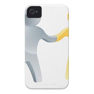 Partnership concept iPhone 4 Case-Mate case