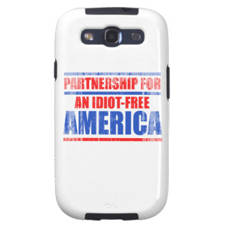Partnership for an idiot-free America Faded.png Samsung Galaxy SIII Case