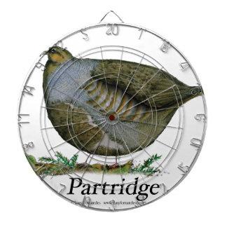 Partridge bird, tony fernandes dartboard