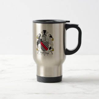 Partridge Family Crest Travel Mug
