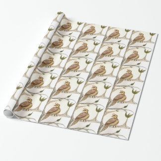 Partridge in a Green Pear Tree Wrapping Paper