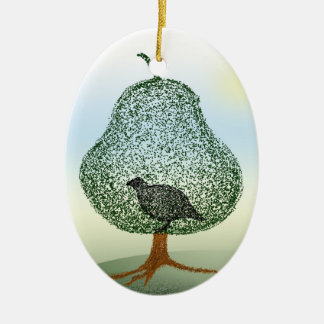 Partridge In A Pear Tree Christmas Christmas Ornament