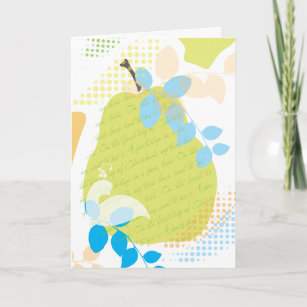 Partridge pear tree cards zazzle uk partridge in a pear tree christmas greeting card m4hsunfo