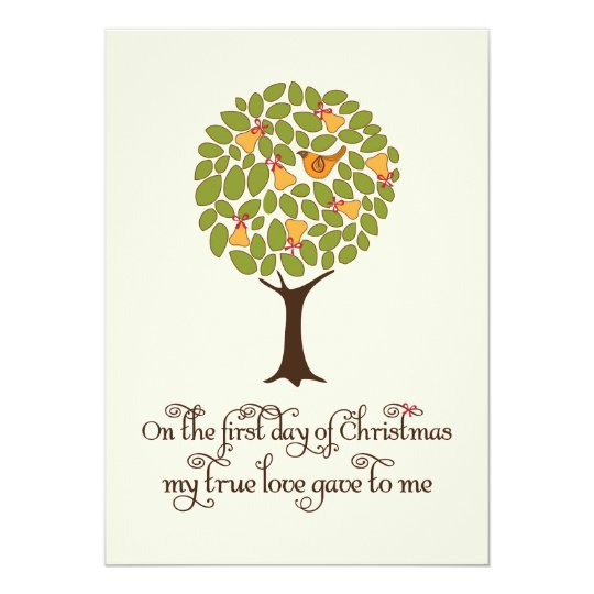 Partridge in a Pear tree Holiday Gift Exchange