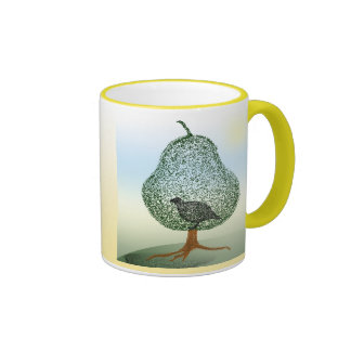 Partridge In A Pear Tree Ringer Mug