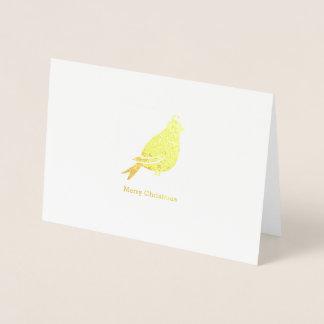 Partridge Merry Christmas - Christmas Folded Card