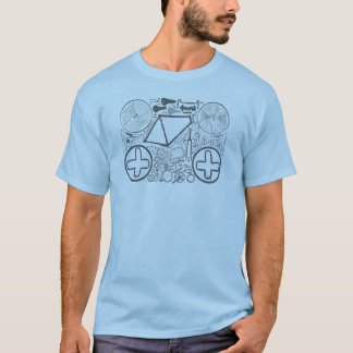 Parts of a Bicycle T-Shirt