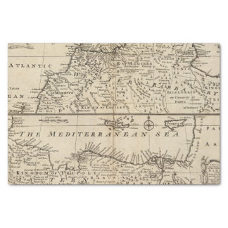 Parts of Barbary, Africa Tissue Paper