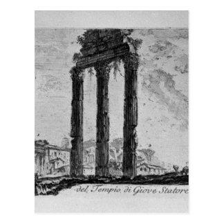 Parts of the Forum of Nerva by Giovanni Battista Postcard