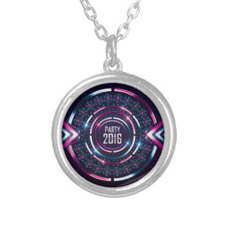 Party 2016 Album Cover Merch Round Pendant Necklace