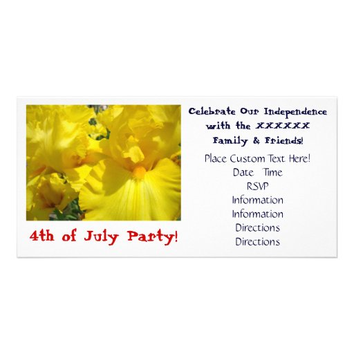 Party 4th of July Invitations Photo Cards Holidays