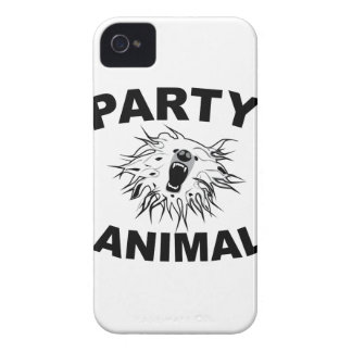 Party Animal. A Fun Design for Fun People. iPhone 4 Cases