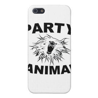 Party Animal. A Fun Design for Fun People. iPhone 5 Cover