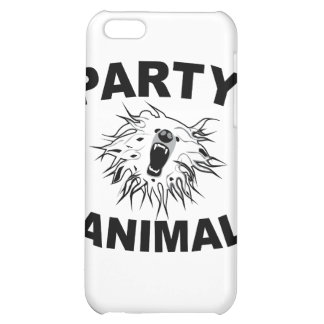 Party Animal. A Fun Design for Fun People. Case For iPhone 5C