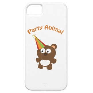 Party animal bear iPhone 5/5S covers