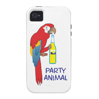PARTY ANIMAL Case-Mate iPhone 4 CASE