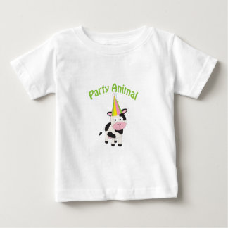 Party animal! Cow Baby T-Shirt