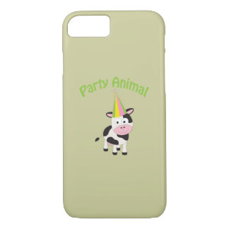 Party Animal cow iPhone 7 Case
