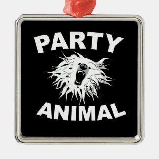 Party Animal. For people who like to have fun. Christmas Ornament