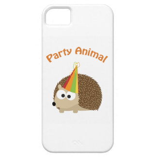 Party Animal Hedgehog Cover For iPhone 5/5S