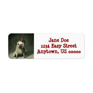 Party Animal Return Address Label