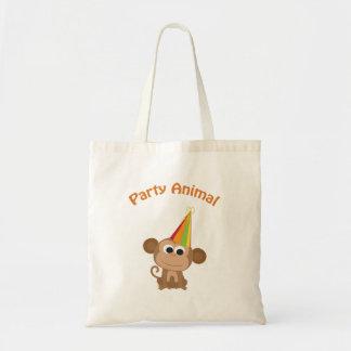 Party Animal! Monkey Tote Bag