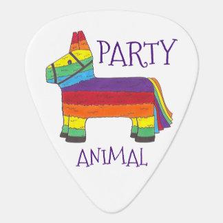 Party ANIMAL Rainbow Donkey Piñata Birthday Fiesta Plectrum