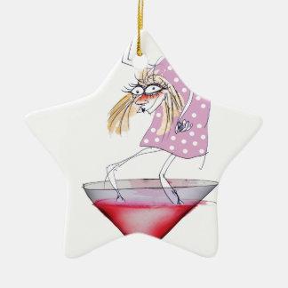 party animal, tony fernandes ceramic star decoration
