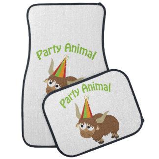 Party Animal! Yak Car Mat
