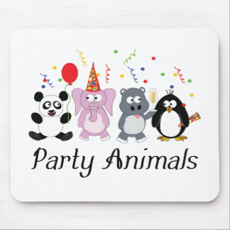Party Animals Mouse Mat