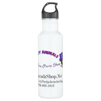 Party Animalz Shop Aluminum 24oz 710 Ml Water Bottle