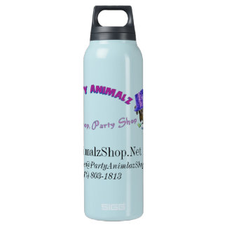 Party Animalz Shop Aluminum 24oz Insulated Water Bottle