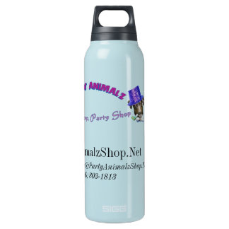 Party Animalz Shop Insulated Water Bottle
