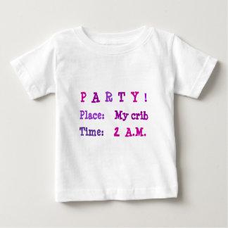 Party At My Crib At 2 A.M. Tshirts