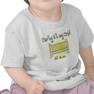 Party at My Crib cute baby bodysuit or t-shirt