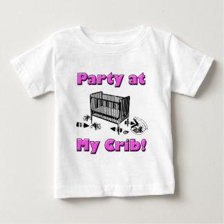 Party at my Crib! Pink Shirt