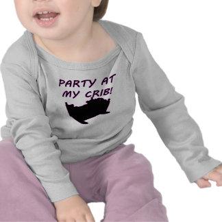 Party At My Crib Tees