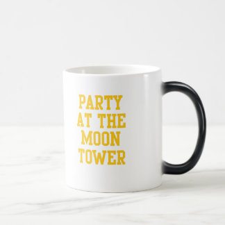 Party at the Moon Tower Morphing Mug