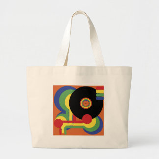 Party Background Large Tote Bag