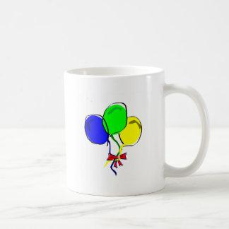Party Ballons Basic White Mug